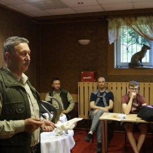 Education about hunting, photo by Białowieża Forest District