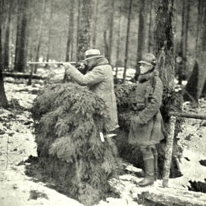 Hunting, photo from Archive of Bialowieza Forest District