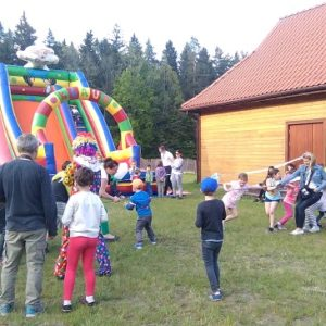 "Half-marathon in Hajnowka - meeting in the Forest Education Centre ""Jagiellońskie"", photo by Klaudia Formejster"